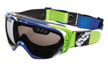 iXS Combat Pathfinder Goggles blue/green